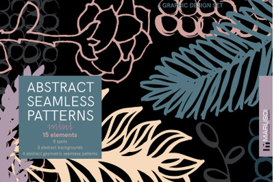 ABSTRACT geometric seamless patterns. Mini