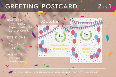 International Music Day - October 1