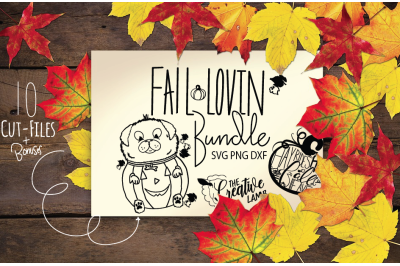 Fall Lovin Mini Bundle  10 Fall svgs Plus Bonuses
