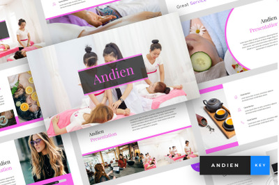 Andien - Spa & Beauty Keynote Template