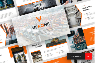 Verone - Logistics & Transport PowerPoint Template