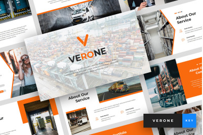 Verone - Logistics & Transport Keynote Template