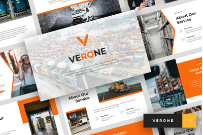 Verone - Logistics & Transport Google Slides Template