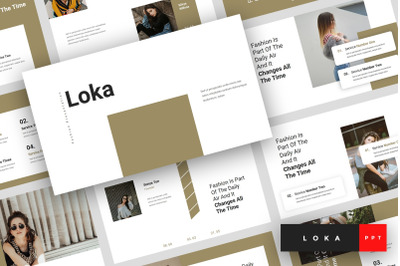 Loka - Fashion PowerPoint Template