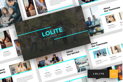 Lolite - Insurance Google Slides Template