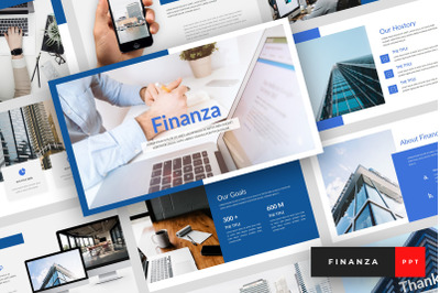 Finanza - Finance PowerPoint Template