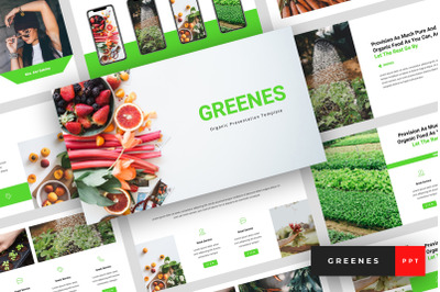 Greenes - Organic PowerPoint Template