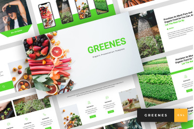 Greenes - Organic Google Slides Template
