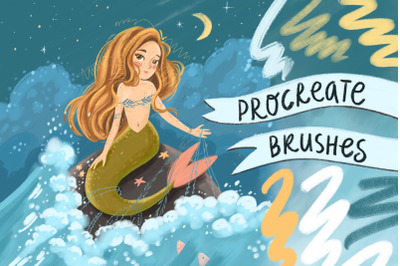 Brushes procreate. Texture paints