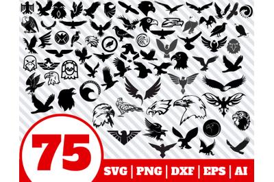 75 Eagle SVG BUNDLE - Eagle clipart - Eagle vector - Eagle cricut