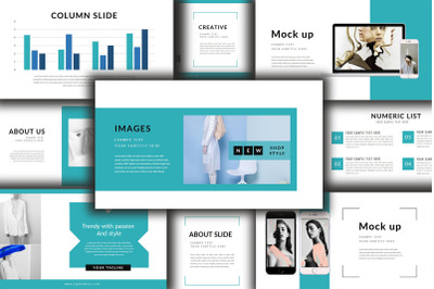 Style Lookbook Keynote Template