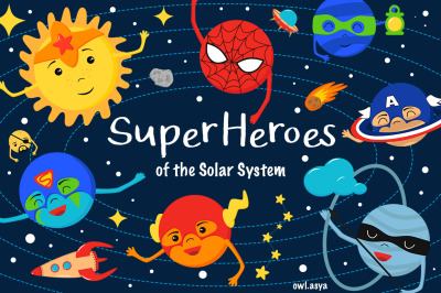 SuperHeroes of the Solar System