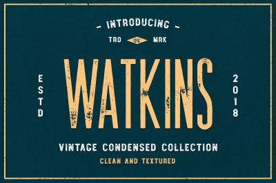 Watkins Typeface
