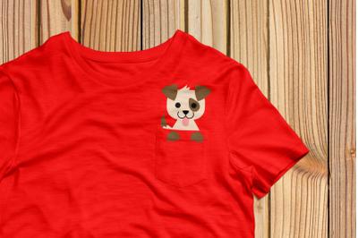 Pocket Dog   SVG   PNG   DXF