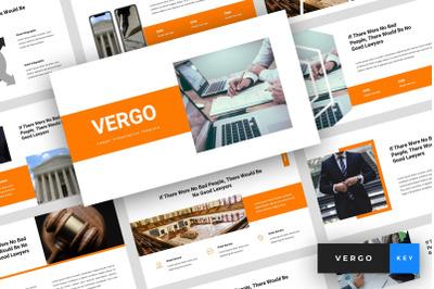 Vergo - Lawyer Keynote Template
