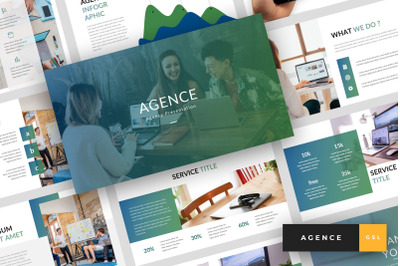 Agence - Agency Google Slides Template
