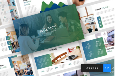 Agence - Agency Keynote Template