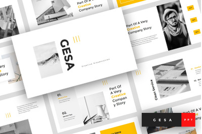 Gesa - Creative PowerPoint Template