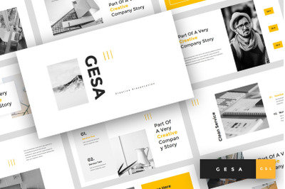 Gesa - Creative Google Slides Template
