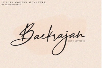 Baekrajan Luxury Modern Signature