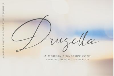 Drusella Modern Calligraphy