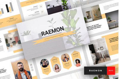 Raemon - Furniture PowerPoint Template