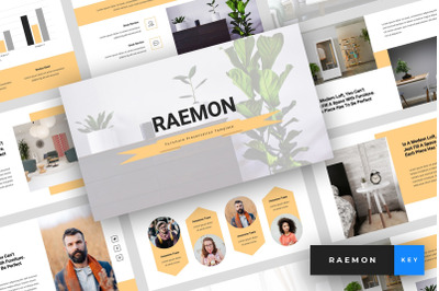 Raemon - Furniture Keynote Template