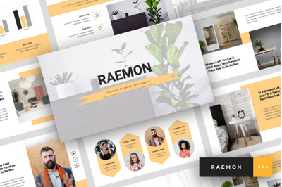 Raemon - Furniture Google Slides Template