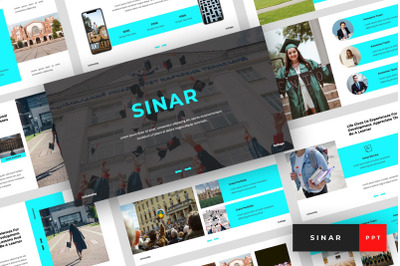 Sinar - University PowerPoint Template