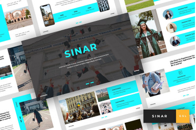 Sinar - University Google Slides Template