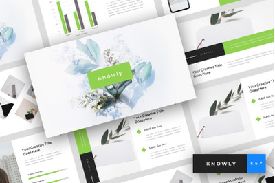Knowly - Clean Keynote Template