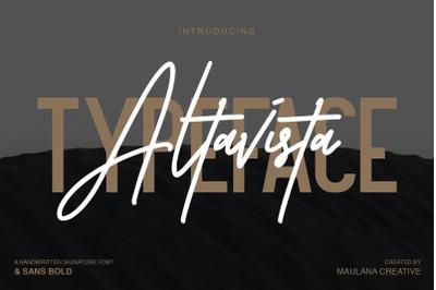 Altavista Font Duo