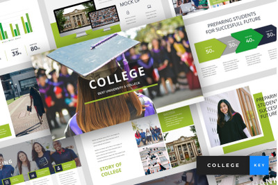 College - University Keynote Template