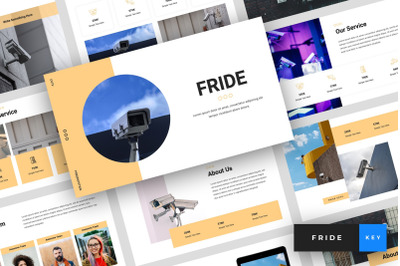 Fride - CCTV Keynote Template