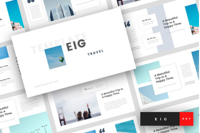 Eig - Travel PowerPoint Template
