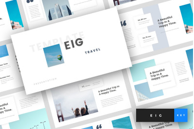 Eig - Travel Keynote Template