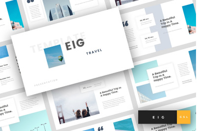 Eig - Travel Google Slides Template