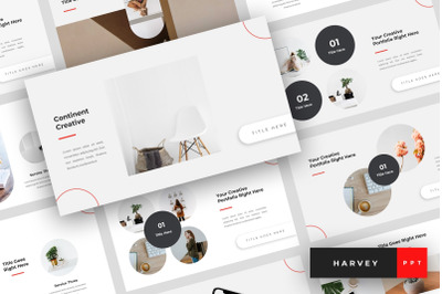 Continent - Creative PowerPoint Template