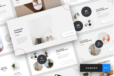 Continent - Creative Keynote Template