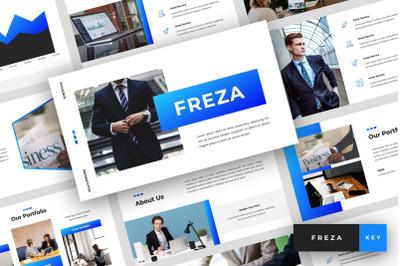 Freza - Pitch Deck Keynote Template