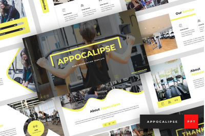 Appocalipse - Gym PowerPoint Template