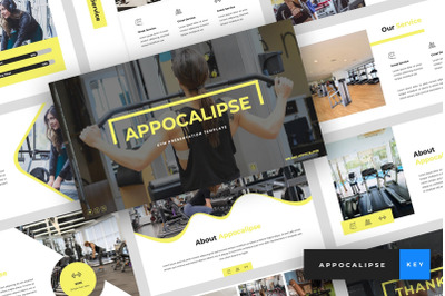 Appocalipse - Gym Keynote Template