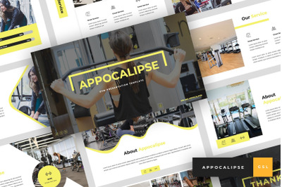 Appocalipse - Gym Google Slides Template