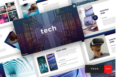 Tech - Technology PowerPoint Template