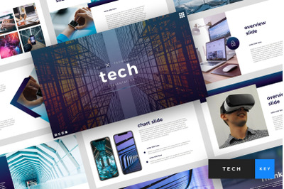 Tech - Technology Keynote Template