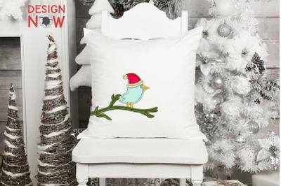 Santa Claus Applique Design, Christmas Embroidery Design, Holiday Appl