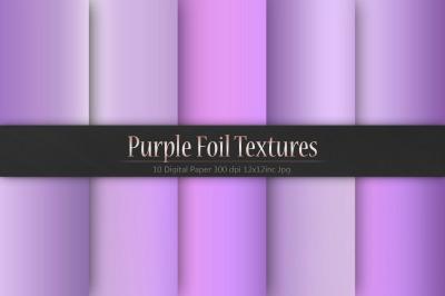 Valentine's Day Purple Foil Textures