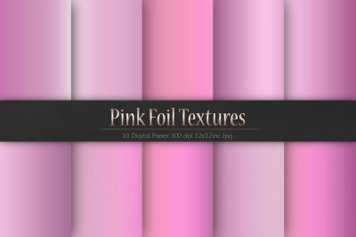 Pink Foil Christmas Textures