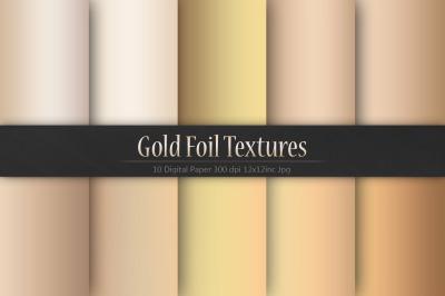 Gold Foil Christmas Textures