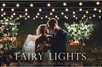 Fairy lights overlays